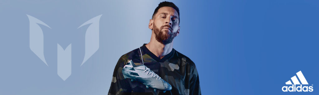 messi shop by player banner image