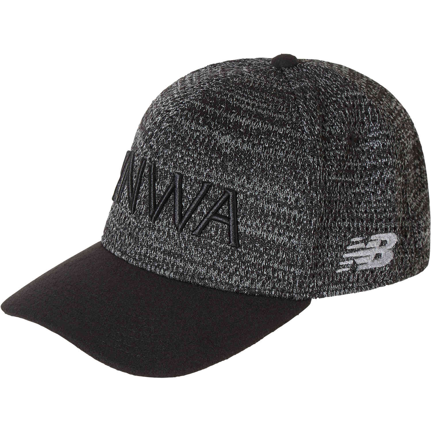new balance black cap