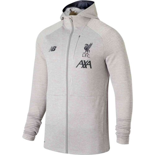 New Balance Liverpool Travel Full-zip Hoodie – Grey Marl