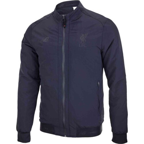 New Balance Liverpool NMST Terrace Game Jacket – Black