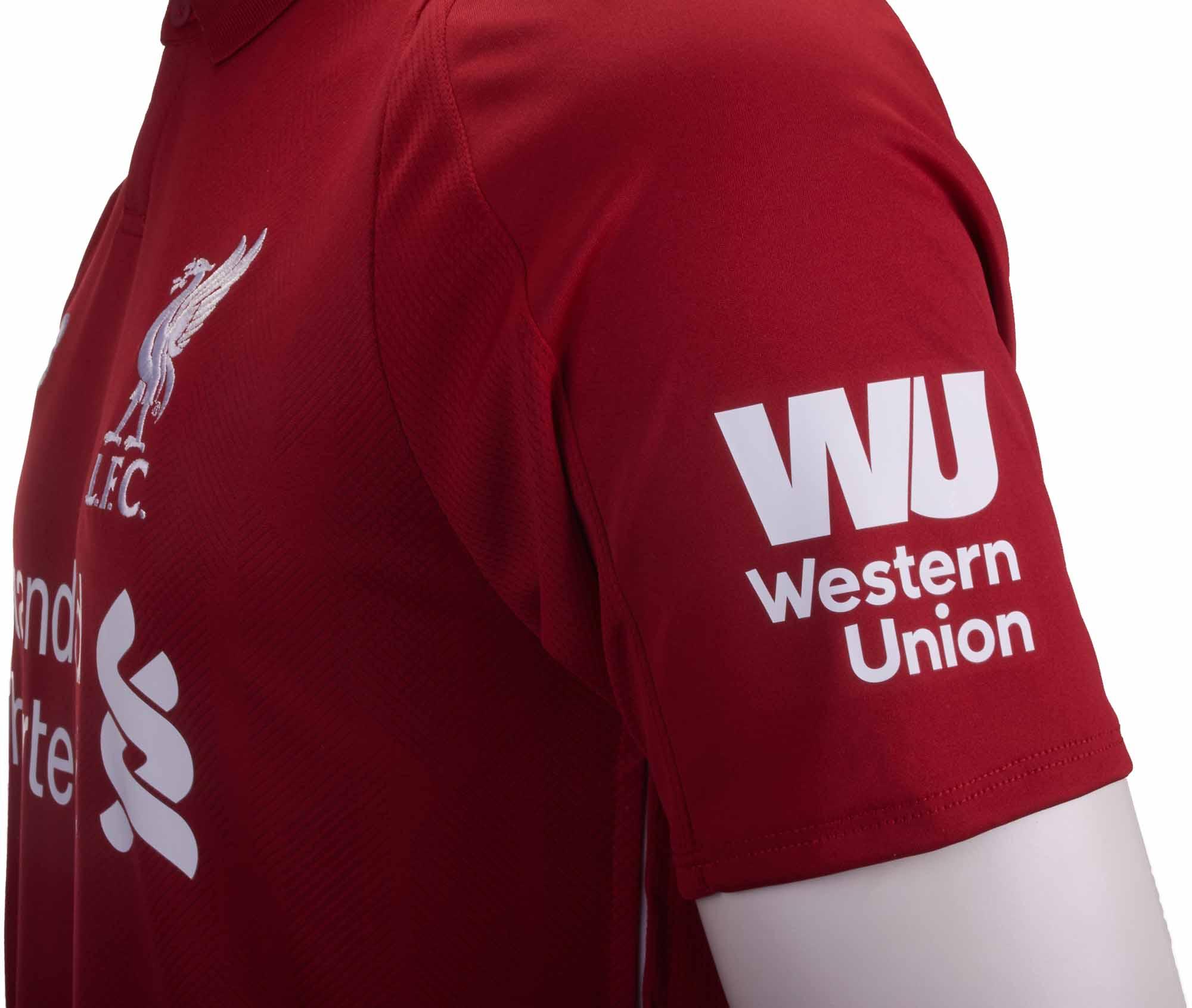 2018 19 new balance liverpool home jersey soccerpro new balance liverpool home jersey