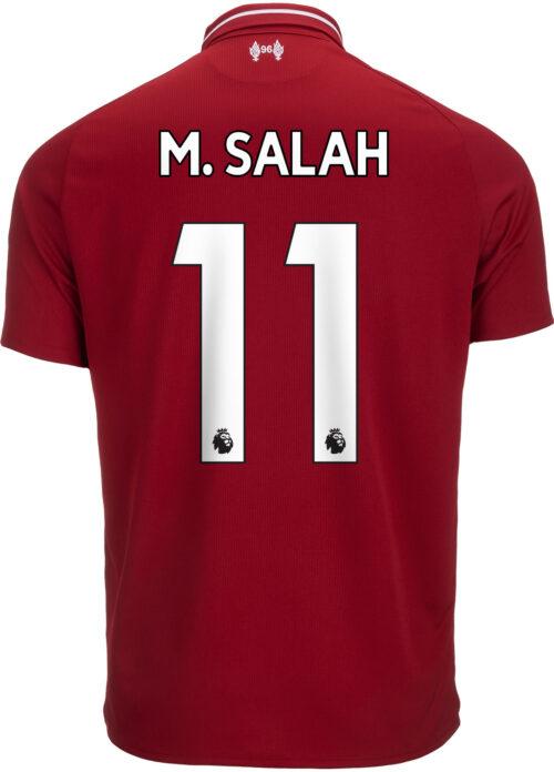2018/19 New Balance Mohamed Salah Liverpool Home Jersey