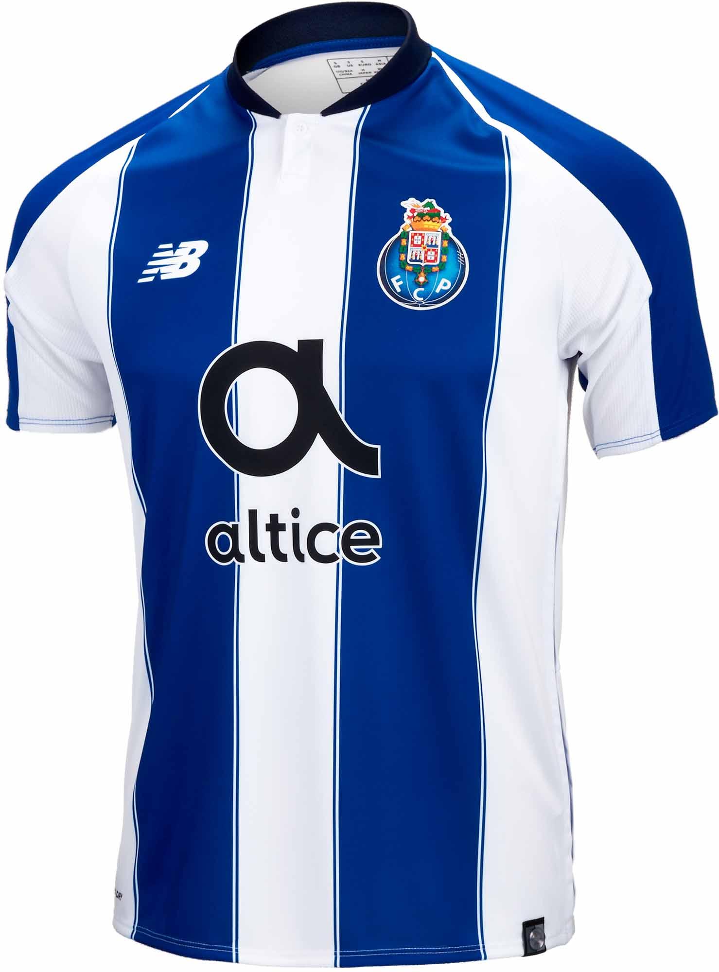 12730f49102 New Balance Porto Home Jersey 2018-19 - SoccerPro