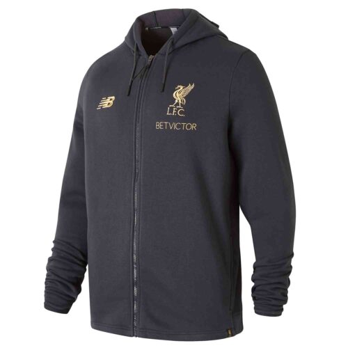 New Balance Liverpool Manager's Hoodie – Phantom