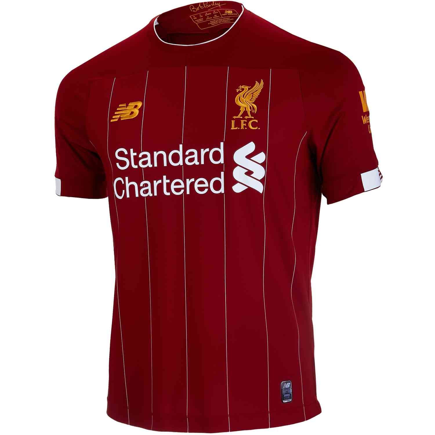 timeless design 83dbc 4fc15 2019/20 New Balance Liverpool Home Jersey - SoccerPro