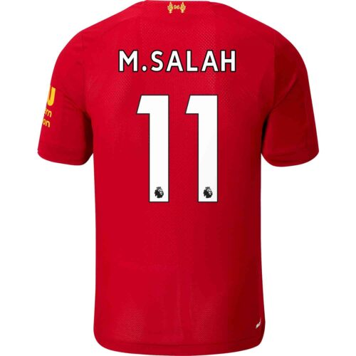 2019/20 New Balance Mohamed Salah Liverpool Home Jersey