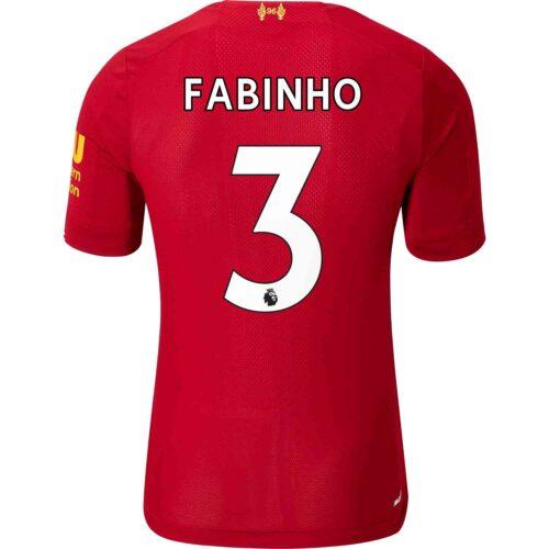 2019/20 New Balance Fabinho Liverpool Home Elite Jersey