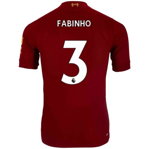 2019/20 New Balance Fabinho Liverpool Home Elite Jersey