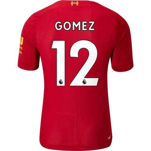 2019/20 New Balance Joe Gomez Liverpool Home Elite Jersey