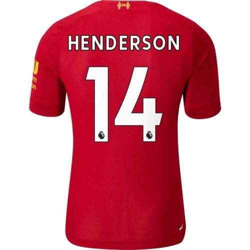 2019/20 New Balance Jordan Henderson Liverpool Home Elite Jersey