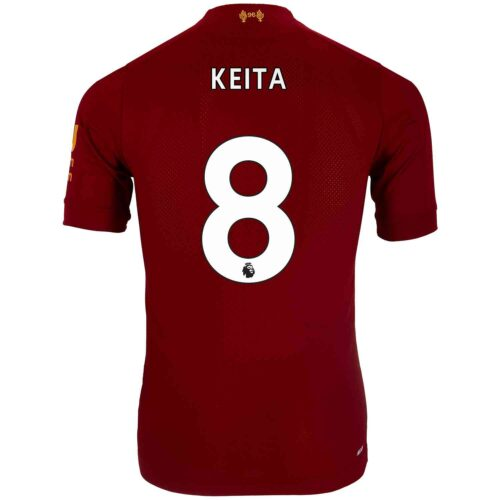2019/20 New Balance Naby Keita Liverpool Home Elite Jersey