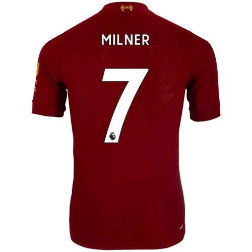 2019/20 New Balance James Milner Liverpool Home Elite Jersey