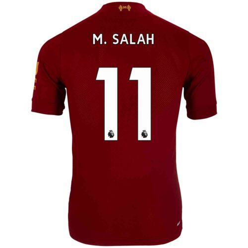 2019/20 New Balance Mohamed Salah Liverpool Home Elite Jersey
