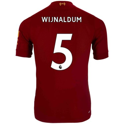 2019/20 New Balance Georginio Wijnaldum Liverpool Home Elite Jersey