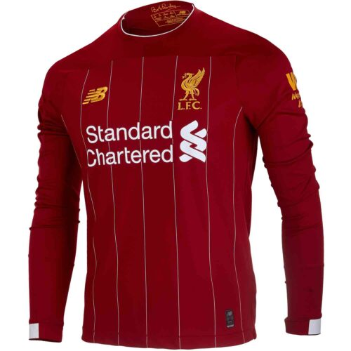 2019/20 New Balance Liverpool L/S Home Jersey