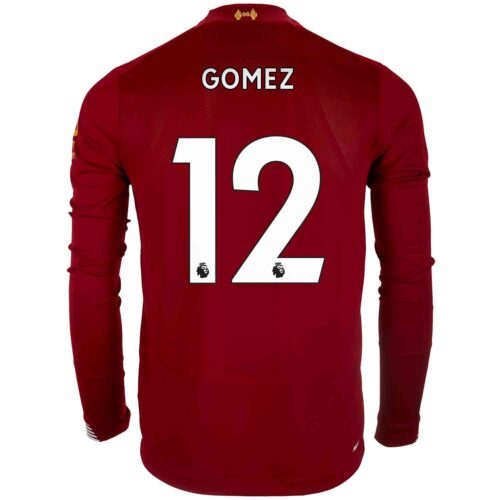 2019/20 New Balance Joe Gomez Liverpool Home L/S Jersey