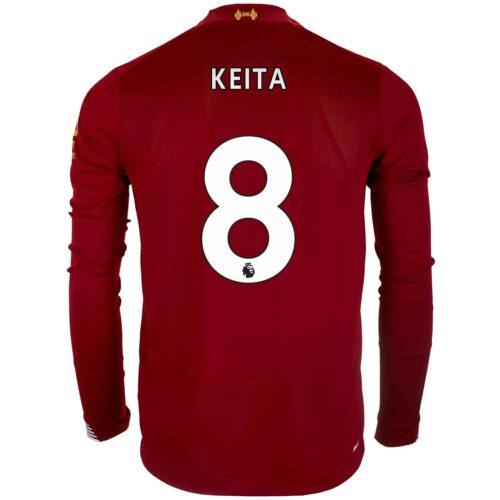 2019/20 New Balance Naby Keita Liverpool Home L/S Jersey