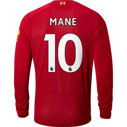 2019/20 New Balance Sadio Mane Liverpool Home L/S Jersey