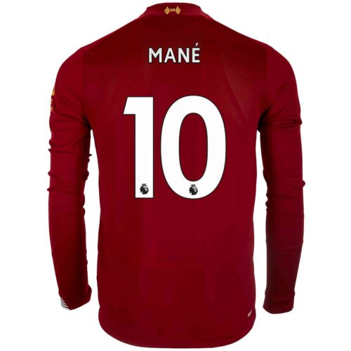 03f21c1e5 2019/20 New Balance Sadio Mane Liverpool Home L/S Jersey