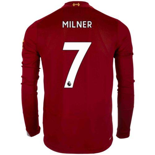 2019/20 New Balance James Milner Liverpool Home L/S Jersey