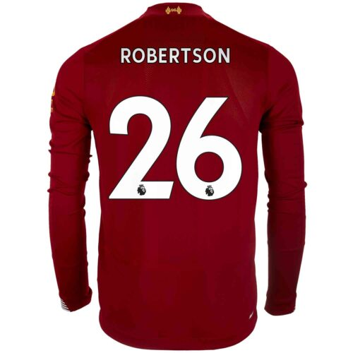 2019/20 New Balance Andrew Robertson Liverpool Home L/S Jersey