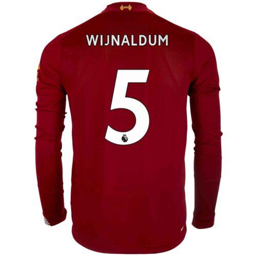 2019/20 New Balance Georginio Wijnaldum Liverpool Home L/S Jersey