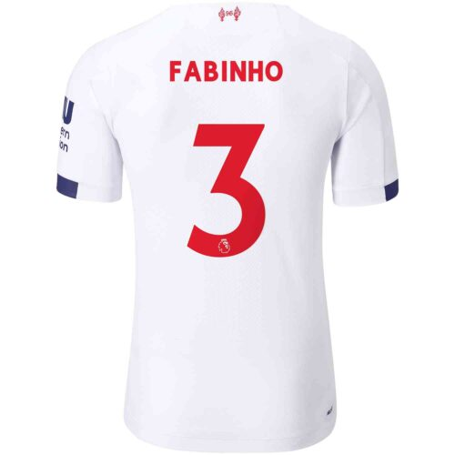 2019/20 New Balance Fabinho Liverpool Away Elite Jersey
