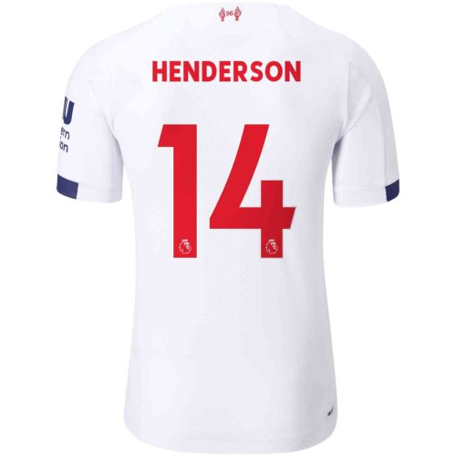 2019/20 New Balance Jordan Henderson Liverpool Away Elite Jersey