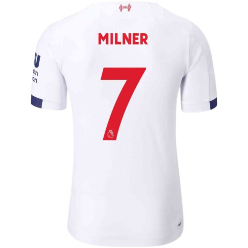 2019/20 New Balance James Milner Liverpool Away Elite Jersey