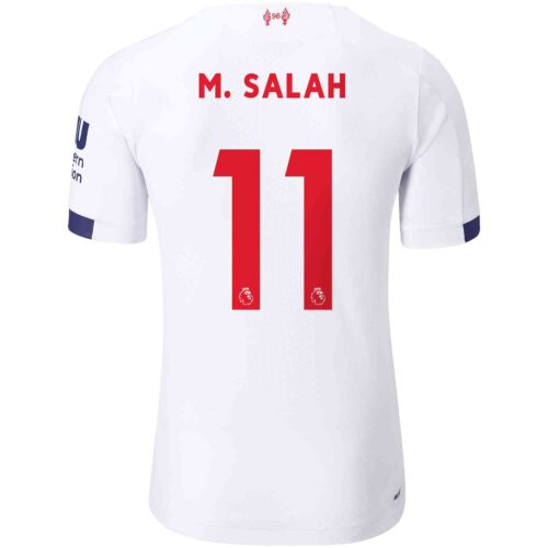 2019/20 New Balance Mohamed Salah Liverpool Away Elite Jersey