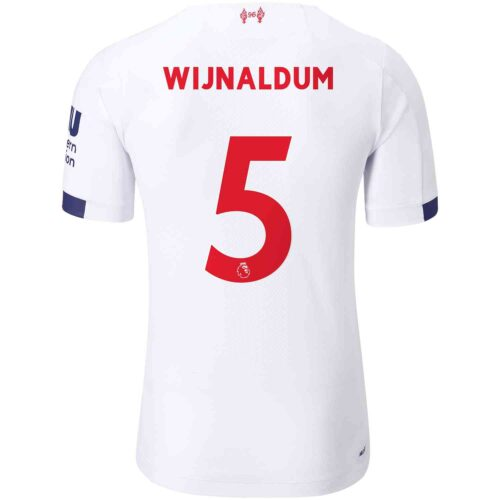 2019/20 New Balance Georginio Wijnaldum Liverpool Away Elite Jersey