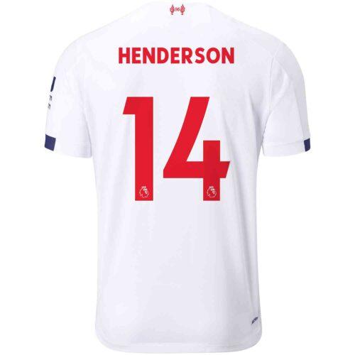 2019/20 New Balance Jordan Henderson Liverpool Away Jersey
