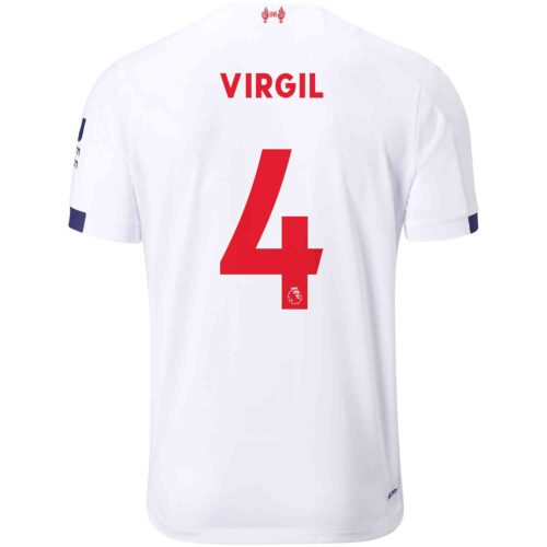 2019/20 New Balance Virgil van Dijk Liverpool Away Jersey