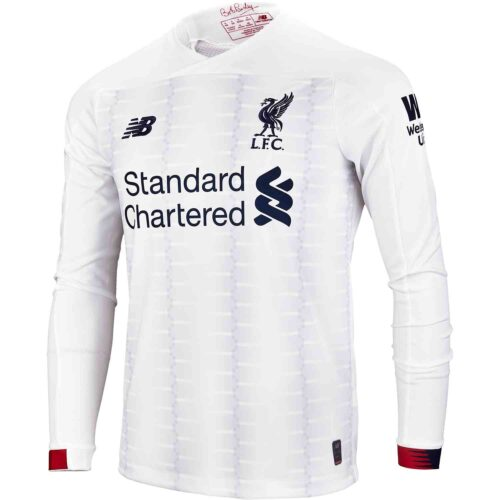 2019/20 New Balance Liverpool L/S Away Jersey