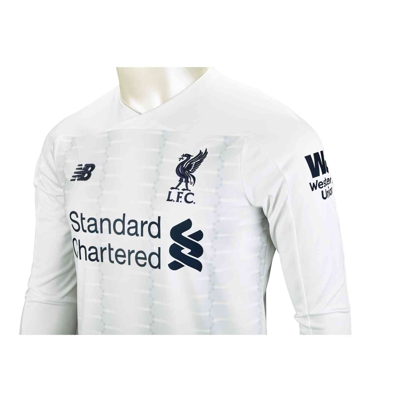 201920 New Balance Liverpool LS Away Jersey SoccerPro