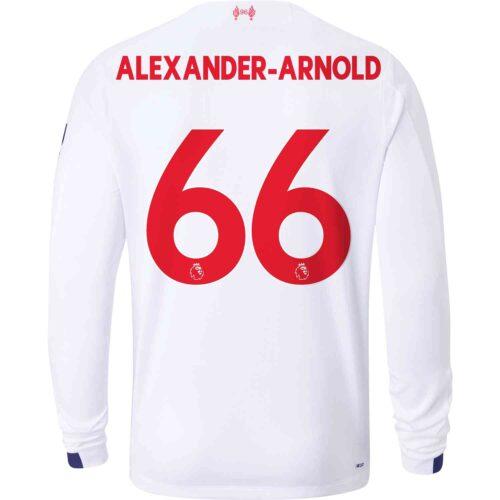 2019/20 New Balance Trent Alexander-Arnold Liverpool Away L/S Jersey