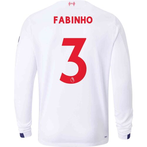 2019/20 New Balance Fabinho Liverpool Away L/S Jersey