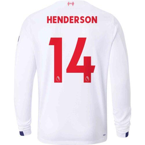2019/20 New Balance Jordan Henderson Liverpool Away L/S Jersey
