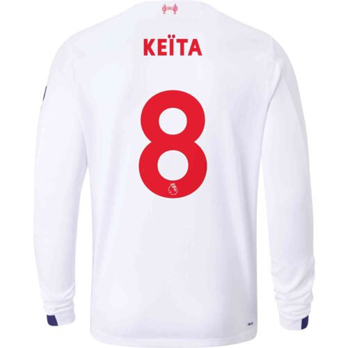 2019/20 New Balance Naby Keita Liverpool Away L/S Jersey