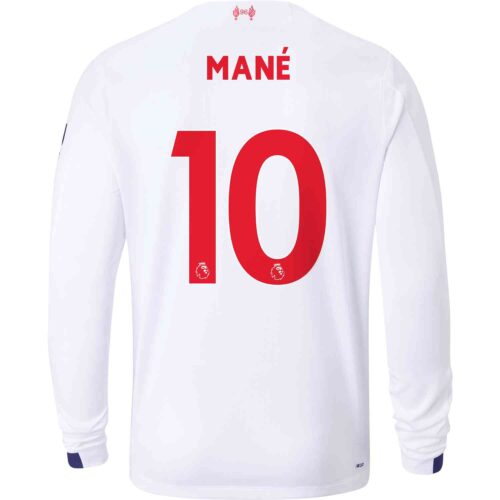 2019/20 New Balance Sadio Mane Liverpool Away L/S Jersey