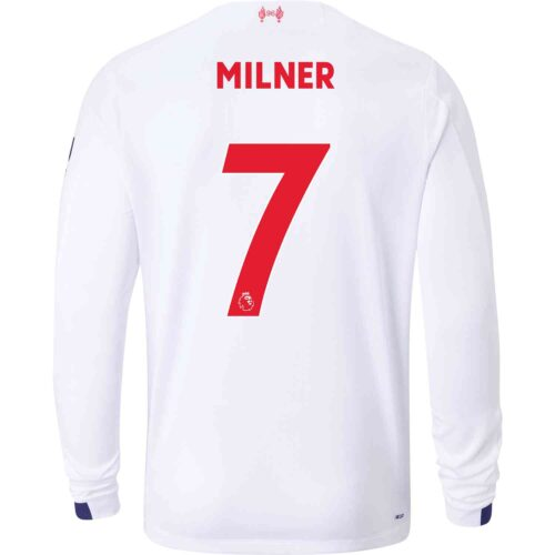 2019/20 New Balance James Milner Liverpool Away L/S Jersey