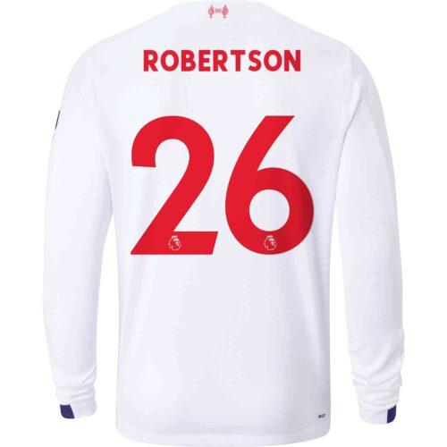2019/20 New Balance Andrew Robertson Liverpool Away L/S Jersey
