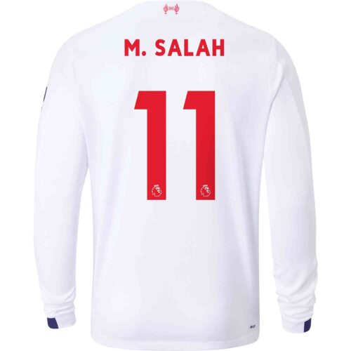 2019/20 New Balance Mohamed Salah Liverpool Away L/S Jersey
