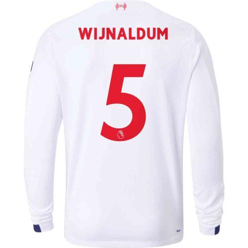 2019/20 New Balance Georginio Wijnaldum Liverpool Away L/S Jersey