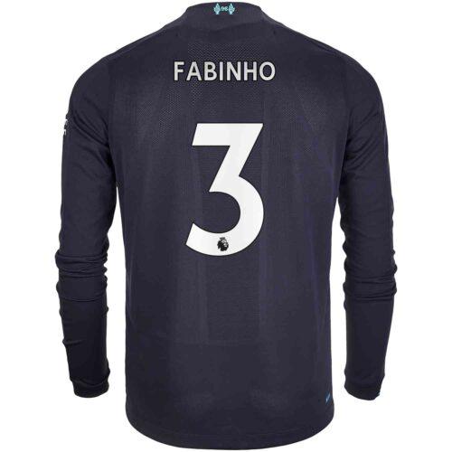 2019/20 New Balance Fabinho Liverpool 3rd L/S Jersey