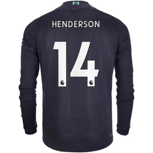 2019/20 New Balance Jordan Henderson Liverpool 3rd L/S Jersey