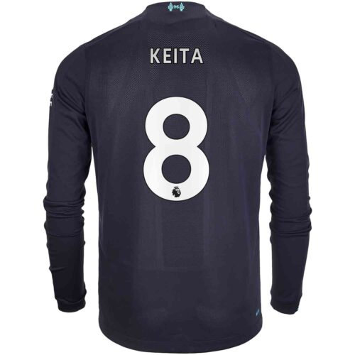 2019/20 New Balance Naby Keita Liverpool 3rd L/S Jersey