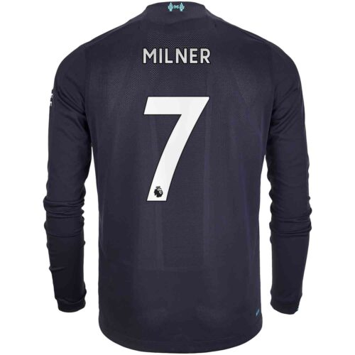 2019/20 New Balance James Milner Liverpool 3rd L/S Jersey
