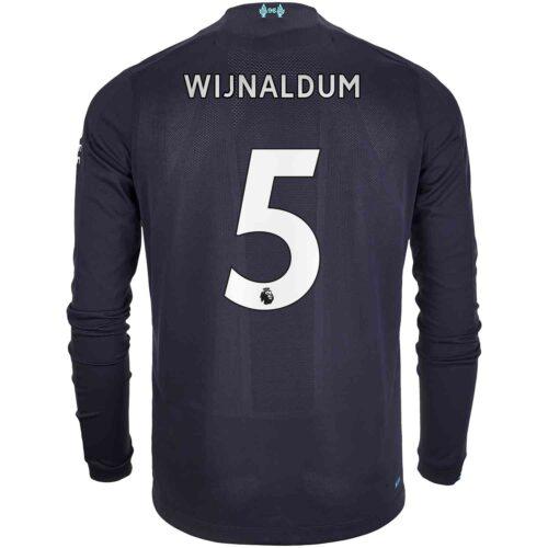 2019/20 New Balance Georginio Wijnaldum Liverpool 3rd L/S Jersey