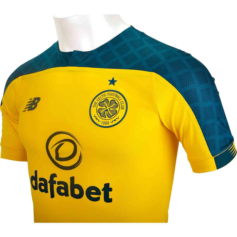 reputable site 4305c 5d445 New Balance Celtic Away Elite Jersey - 2019/20 - SoccerPro